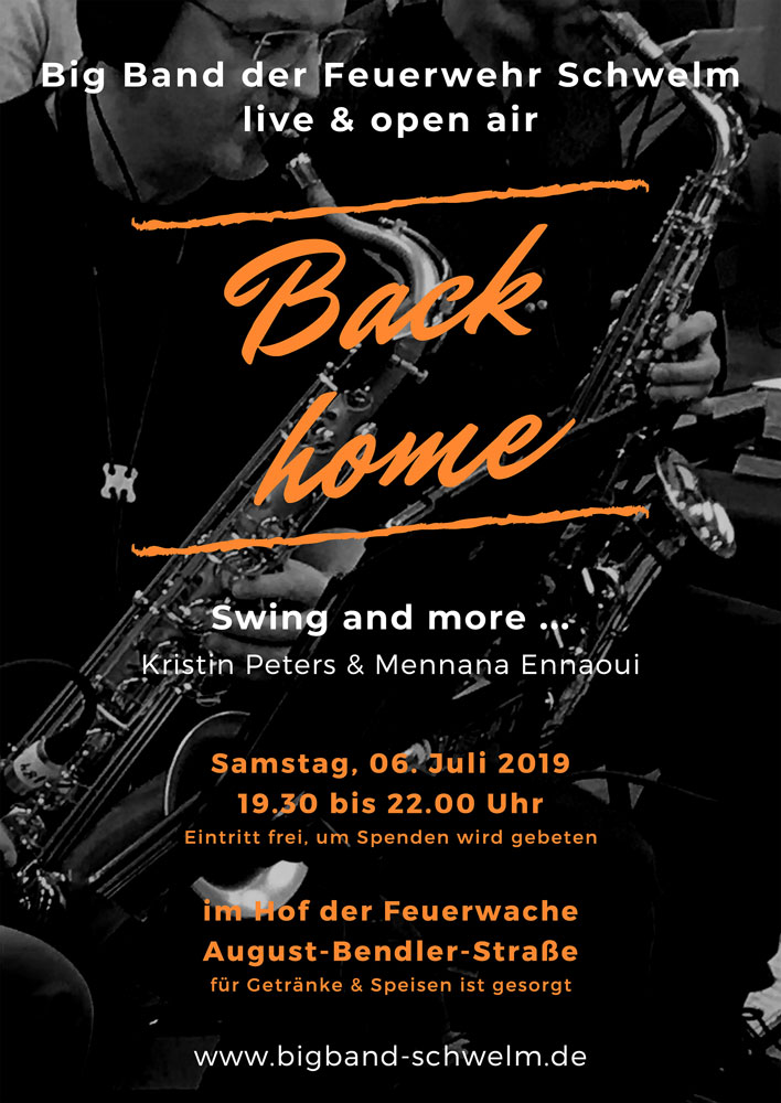 Back home - Swing and more ... an der Feuerwache